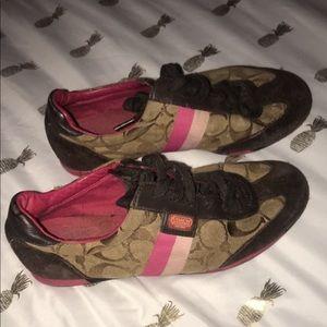 Coach shoes CC women's size 6.5